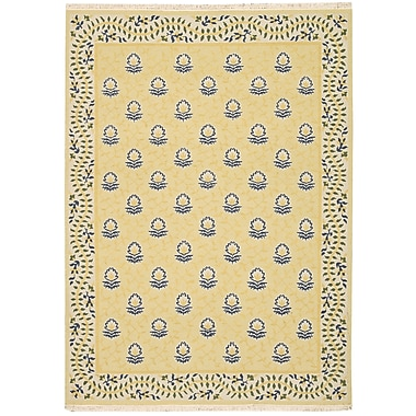 Nourison Nourmak Encore Yellow Area Rug; Runner 2'6'' x 10'