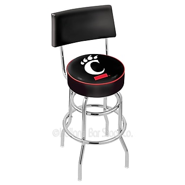 Holland Bar Stool NCAA 30'' Swivel Bar Stool; University of Cincinnati