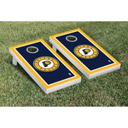 Victory Tailgate NBA Border Version Cornhole 10 Piece Game Set; Indiana Pacers