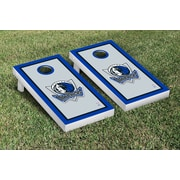Victory Tailgate NBA Border Version Cornhole 10 Piece Game Set; Dallas Mavs Mavericks