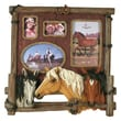 River's Edge Products 4 Photo Horse Picture Frame