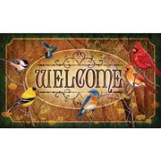 River's Edge Products Birds Doormat