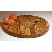 Le Souk Ceramique Olive Wood Round Cutting/Cheese Board