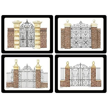 Pimpernel Historic Charleston Gates Placemat Set (Set of 4)