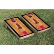 Victory Tailgate NCAA Basketball Wooden Cornhole Game Set; St. Johns University Red Storm