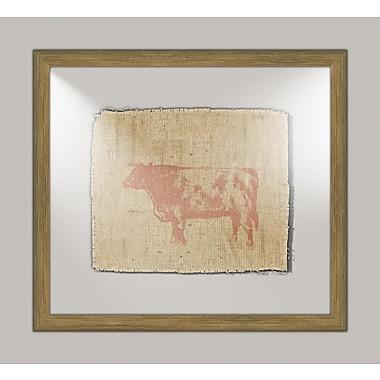 Melissa Van Hise Cow II Framed Graphic Art