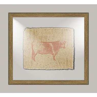 Melissa Van Hise Cow I Framed Graphic Art
