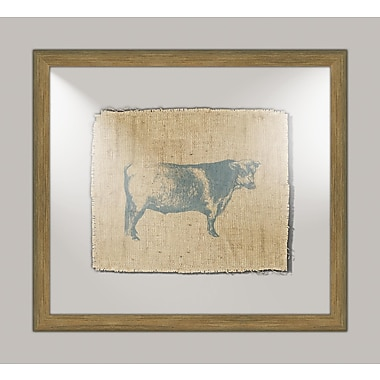 Melissa Van Hise Cow I Framed Graphic Art