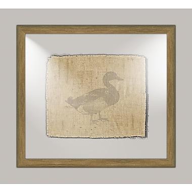 Melissa Van Hise Duck I Framed Graphic Art
