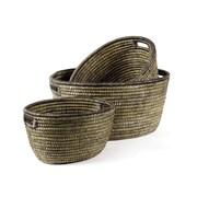 Napa Home & Garden Rivergrass 3 Piece Round Basket Set