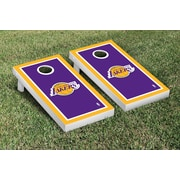 Victory Tailgate NBA Border Version Cornhole 10 Piece Game Set; Los Angeles Lakers