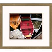 Melissa Van Hise Wooden Rowboats XI Framed Art