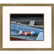 Melissa Van Hise Wooden Rowboats XIV Framed Art