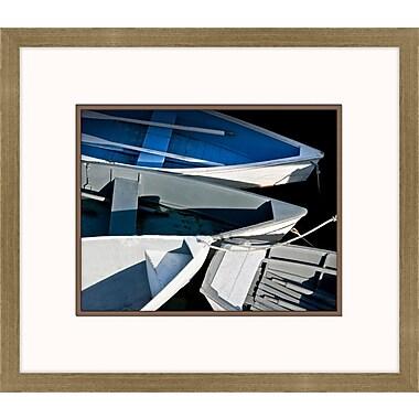Melissa Van Hise Wooden Rowboats XV Framed Photographic Print