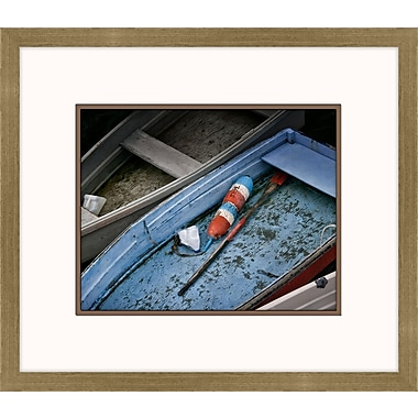 Melissa Van Hise Wooden Rowboats XIII Framed Photographic Print