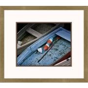 Melissa Van Hise Wooden Rowboats XIII Framed Art