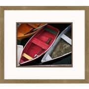 Melissa Van Hise Wooden Rowboats XII Framed Art