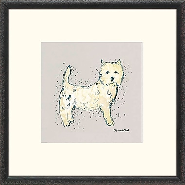 Melissa Van Hise Man's Best Friend IV Framed Painting Print