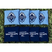Victory Tailgate MLS Replacement All Weather Cornhole Game Bag Set; Vancouver Whitecaps FC Caps