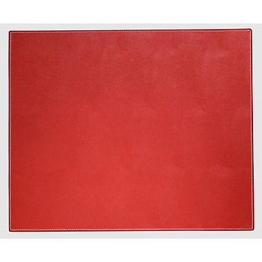 Dacasso Dacasso Faux Leather Table Mat; Rossa Red