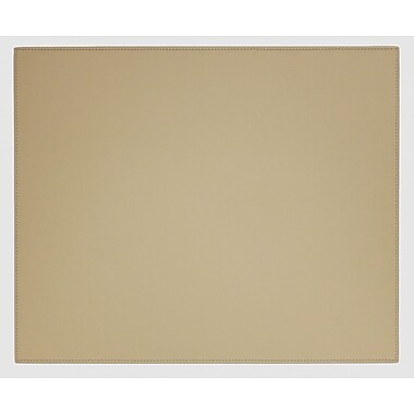 Dacasso Dacasso Faux Leather Table Mat; Sandy Tan