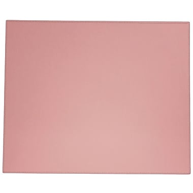 Dacasso Dacasso Faux Leather Table Mat; Cameo Pink