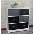 Gallerie Decor Burnside 6 Drawer Cabinet