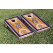 Victory Tailgate NCAA Basketball Wooden Cornhole Game Set; High Point University Panthers