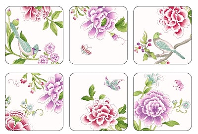 Pimpernel Porcelain Garden Coaster Set (Set of 6) WYF078277022519