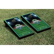 Victory Tailgate MLS Team Soccer Field Version 1 Cornhole Game Set; Seattle Sounders Rave Green