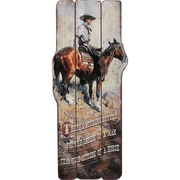 River's Edge Products Western Themed Wood Sign Wall Art