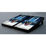 Victory Tailgate NCAA Vintage Wooden Cornhole Game Set; University Of Maine Black Bears