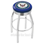 Holland Bar Stool US Armed Forces 30'' Swivel Bar Stool; Navy