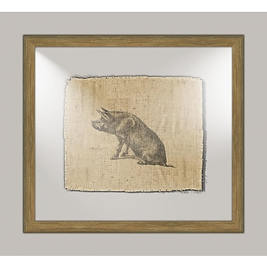 Melissa Van Hise Pig I Framed Graphic Art