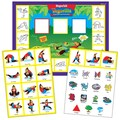 Super Duper Publications SAS144 MagneTalk Yogarilla Exercise & Activity Board Game