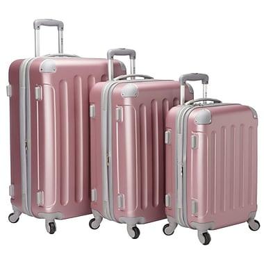 McBRINE - Ensemble de bagages écologiques, 3 pièces, rose