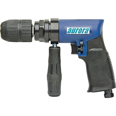 Aurora Tools Air Reversible Drill, 1/2