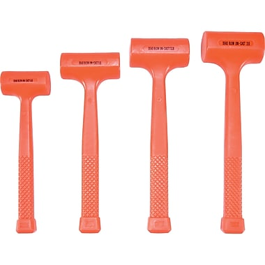 Aurora Tools Dead Blow Hammer Set, 4-Piece