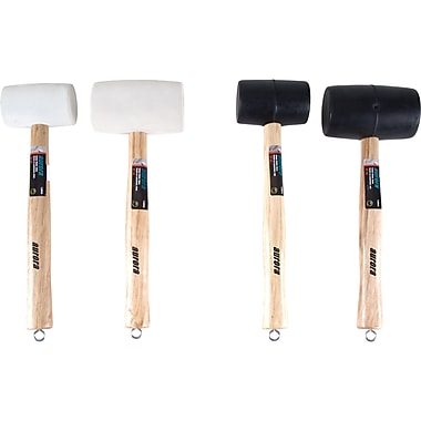 Aurora Tools Rubber Mallet Set, 4-Piece