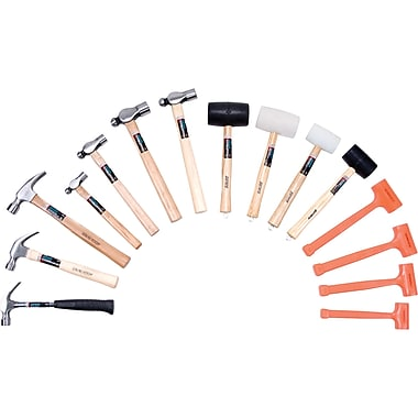 Aurora Tools Ultimate Hammer Set, 15-Piece