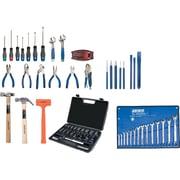 Aurora Tools Starter Tool Set with Steel Chest, 70-Piece