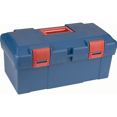 Aurora Tools Heavy-Duty Tool Boxes with Inner Tray, 17-1/2
