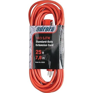 Aurora Tools Indoor/Outdoor Extension Cords, Standard-Duty, 25'