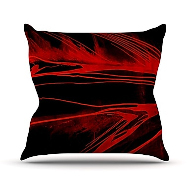 KESS InHouse In the Detail Throw Pillow; 18'' H x 18'' W