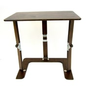Spiderlegs Portable Folding Couch Tray Table; Dark Walnut