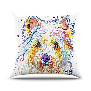 KESS InHouse Bella Throw Pillow; 20'' H x 20'' W