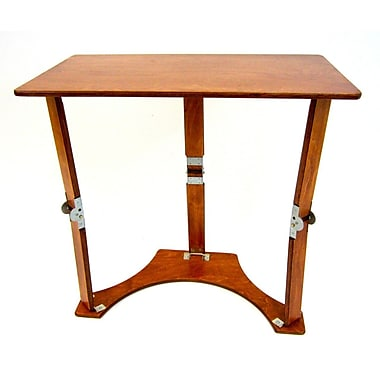 Spiderlegs Folding Laptop Desk/Tray Table; Light Cherry