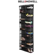 Bell+Howell Over the Door Shoe Organizer, Assorted Colors