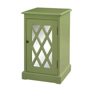 Powell Chippendale End Table; Olive
