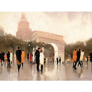 Printfinders Monumental Day by Lorraine Christie Print Painting Canvas Art; 18'' H x 24'' W x 1'' D